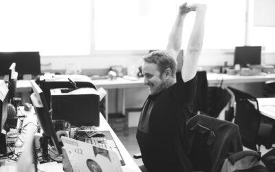 Undgå store ryggener ved at erhverve dig en god arbejdsstol