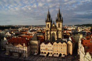 Honeymoon i Prag