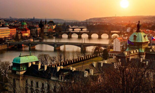 Spis godt i Prag