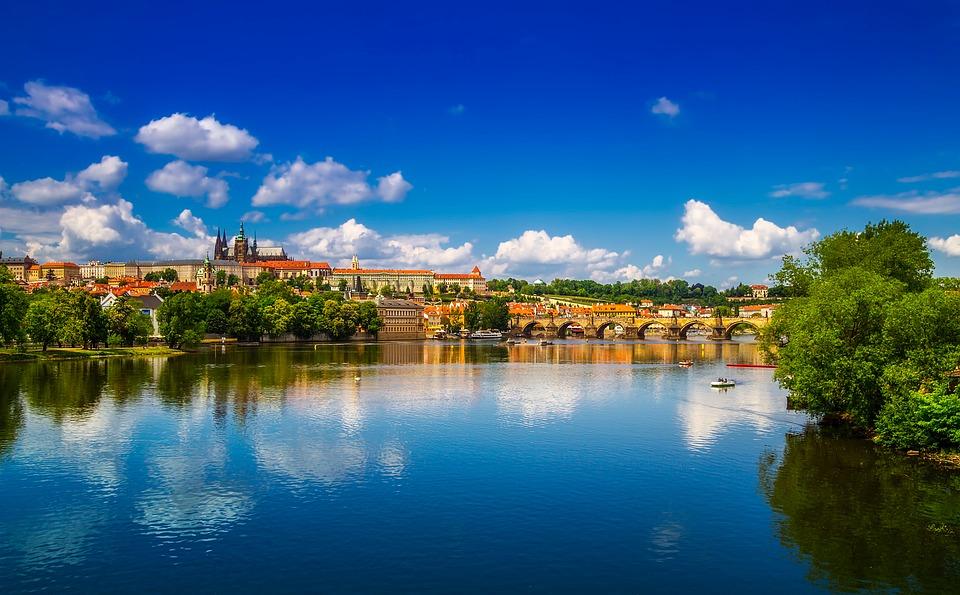 Flod ved Prag
