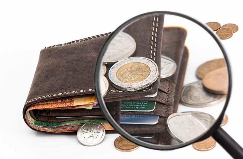 Pengepung med kort og mønter