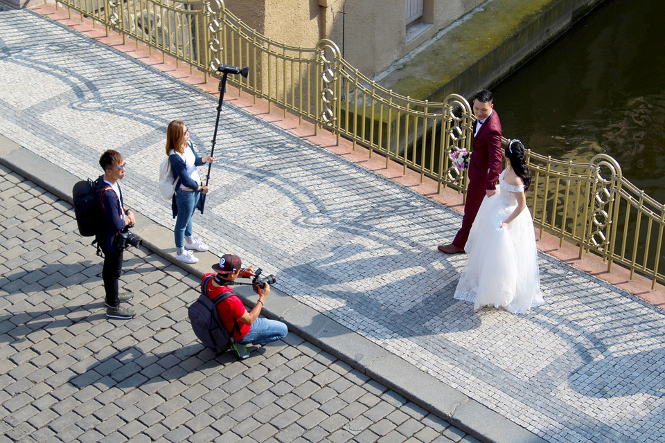 bryllupsfoto i Prag