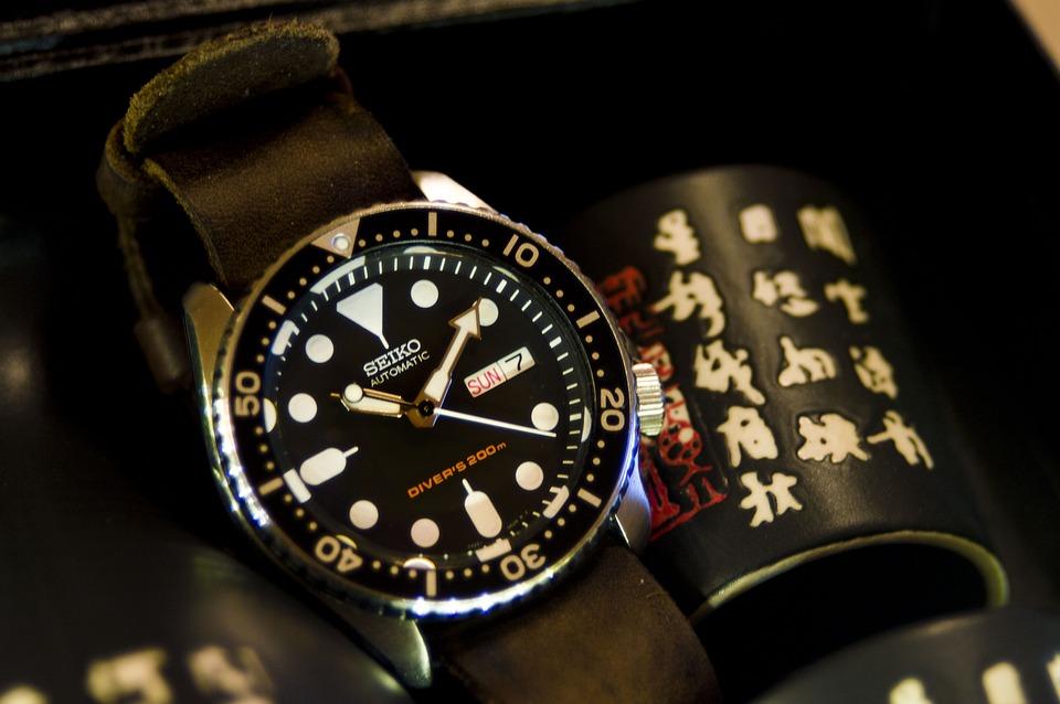 Lækkert, antikt ur fra Seiko