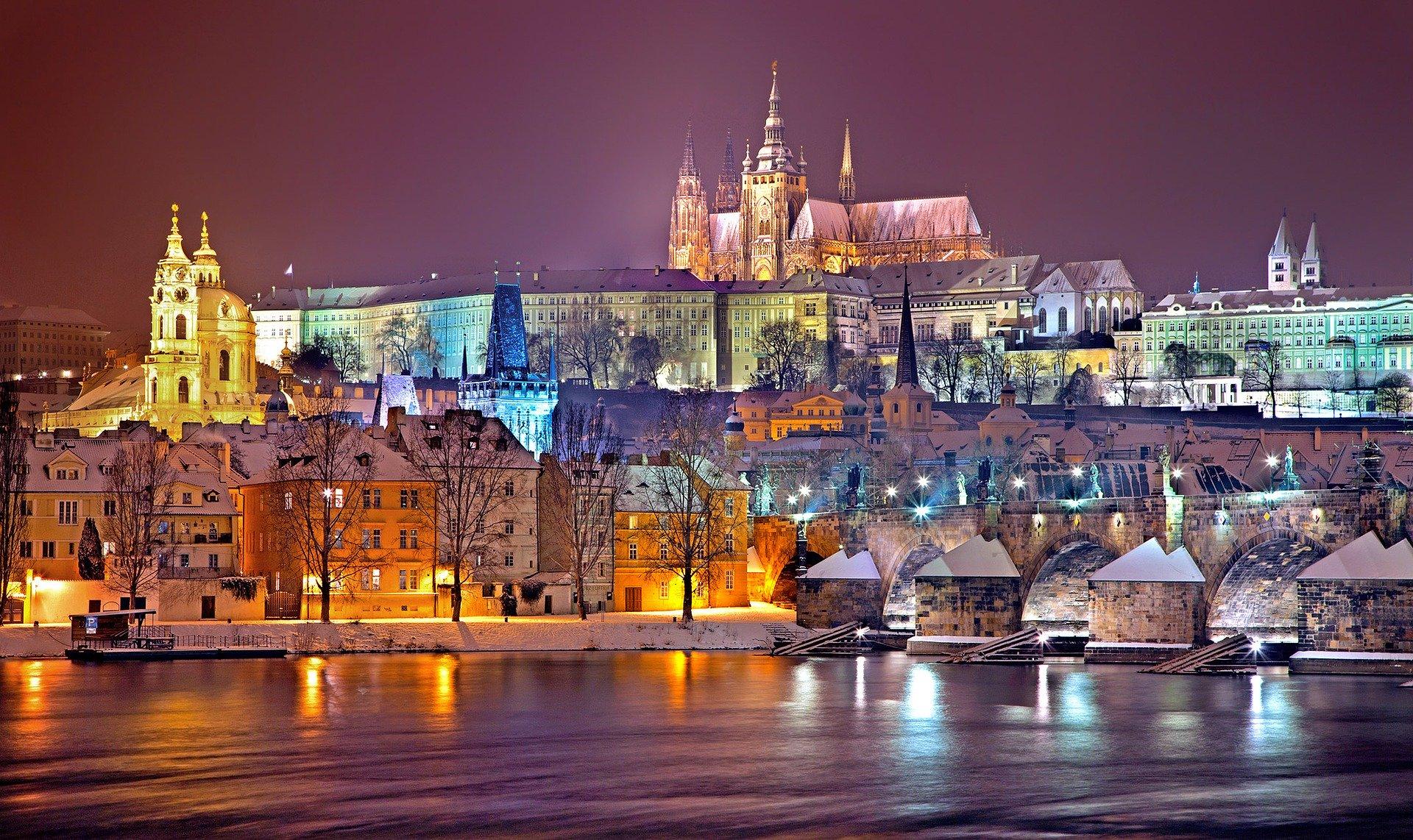 Prag by om vinteren