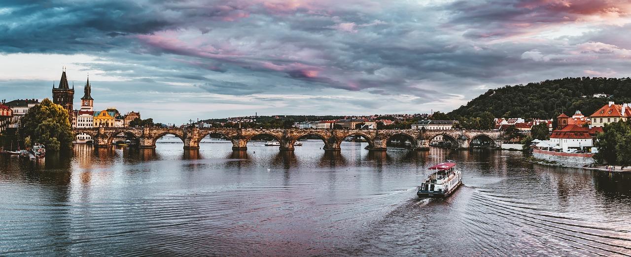 Flod i Prag