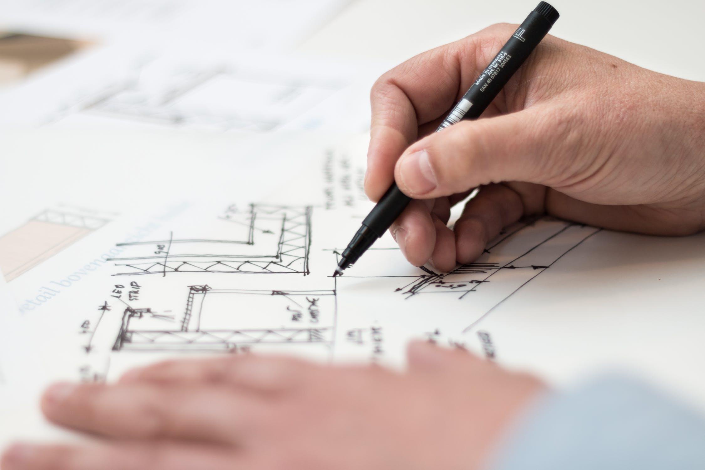 Plan over byggeri