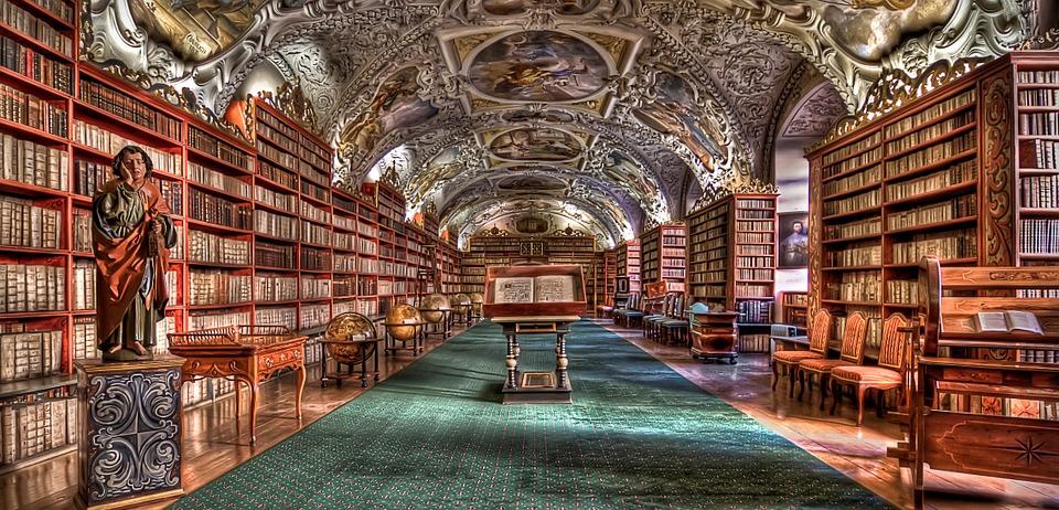 Bibliotek Prag
