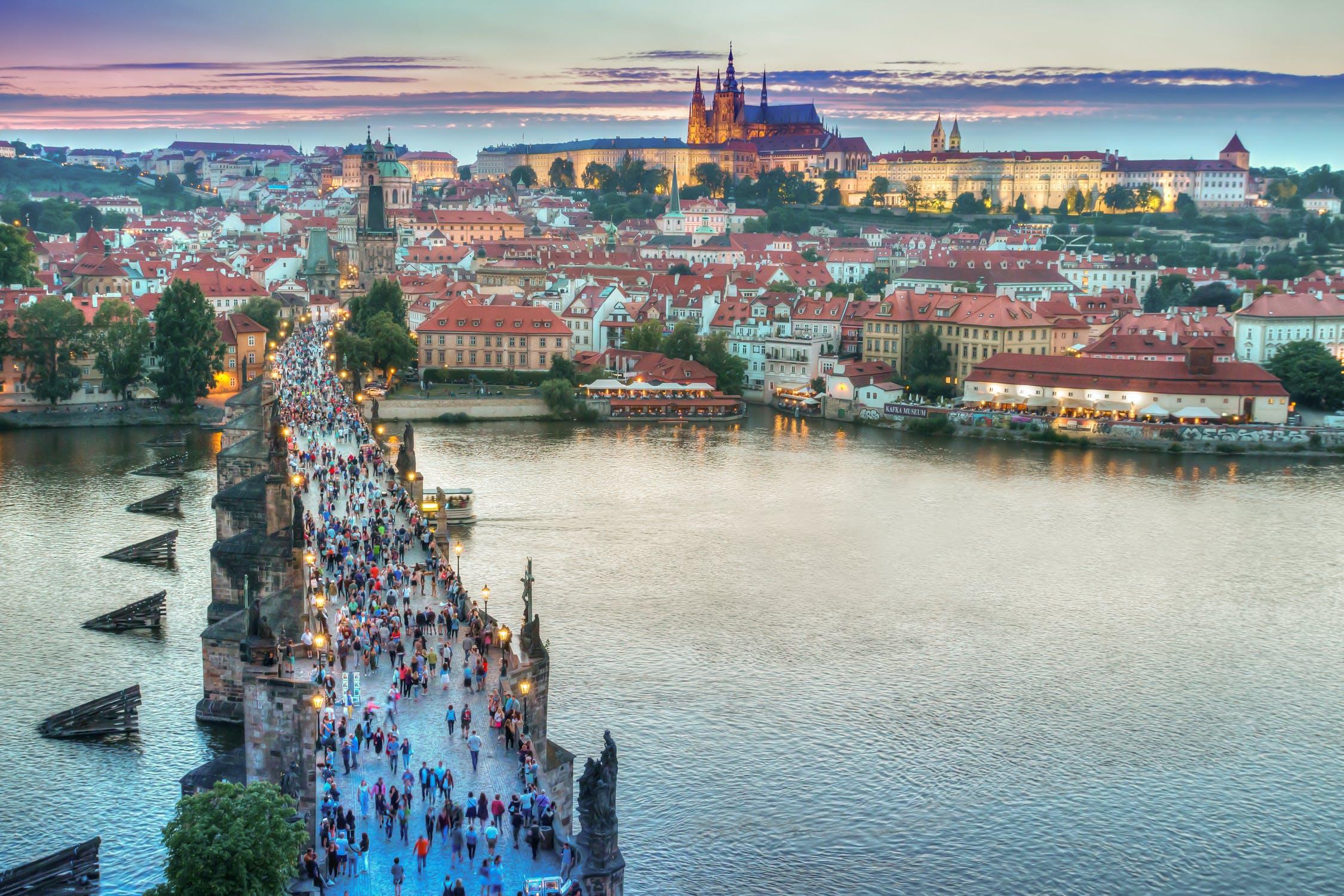 udsigt i Prag