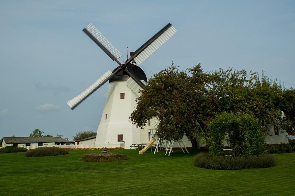 Vindmølle på Bornholm