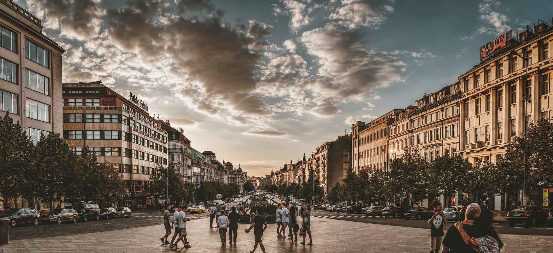 Sted i Prag