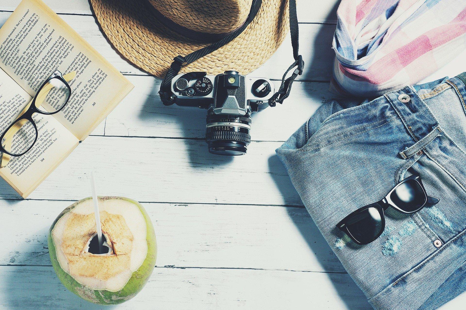 Pakning til ferie med kamera