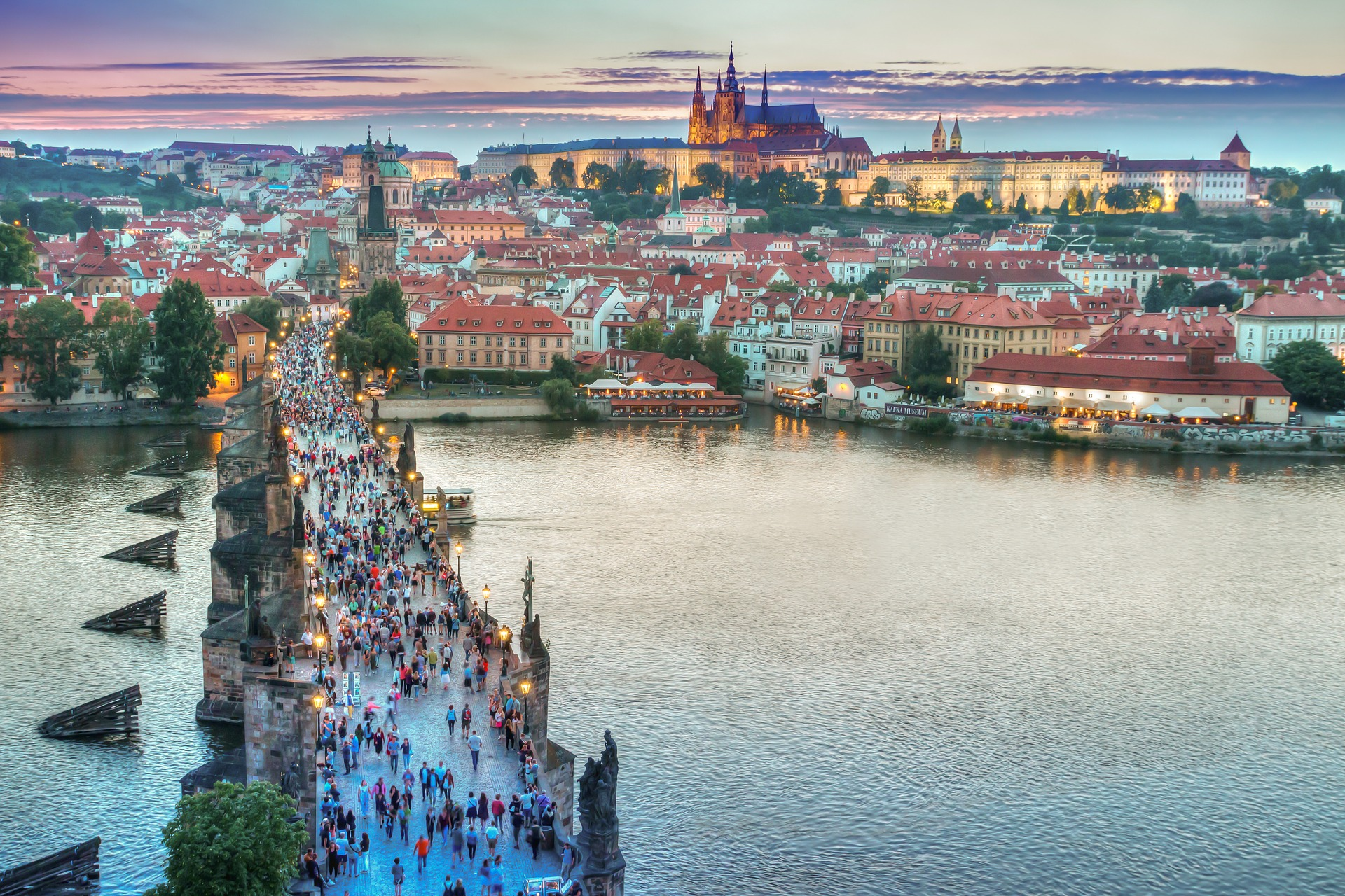 Karlsbroen i Prag