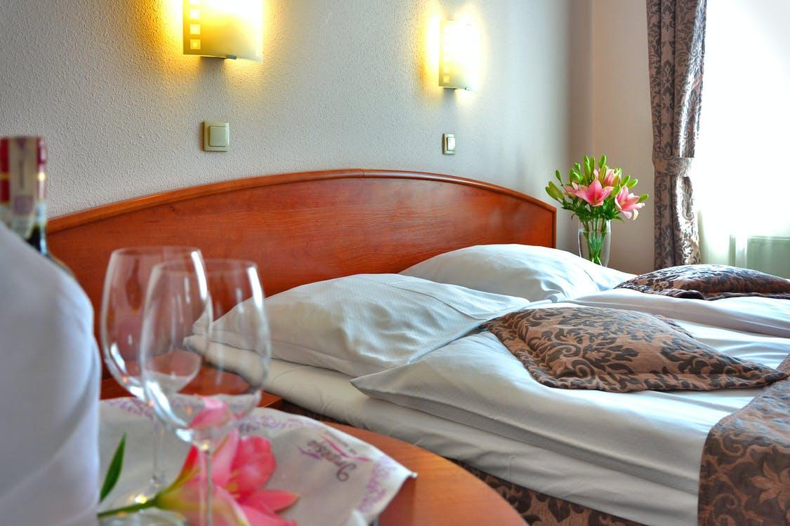 Lækkert hotelværelse
