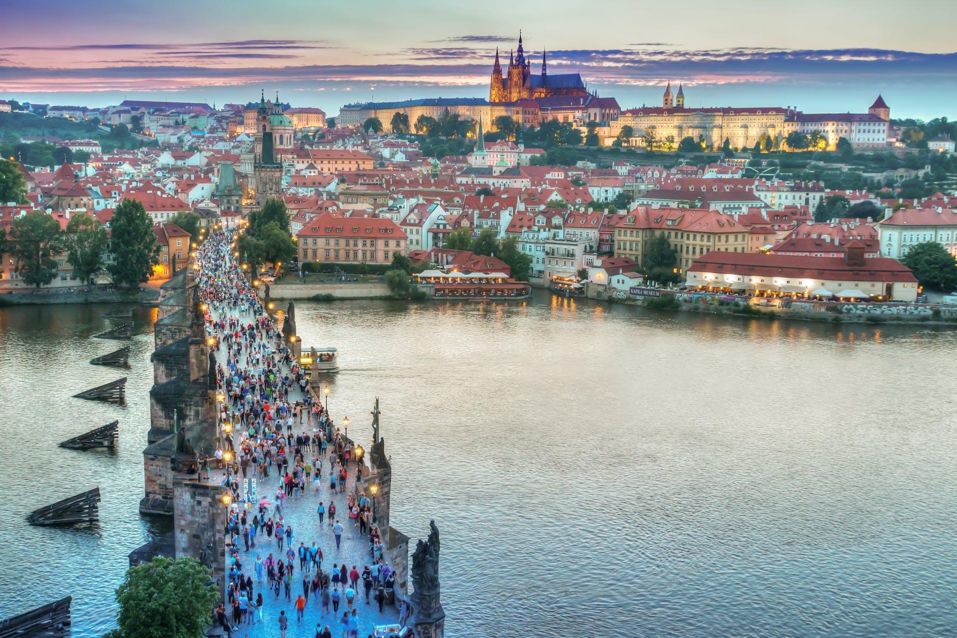 Byen Prag